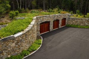 Green Roof Car Cave